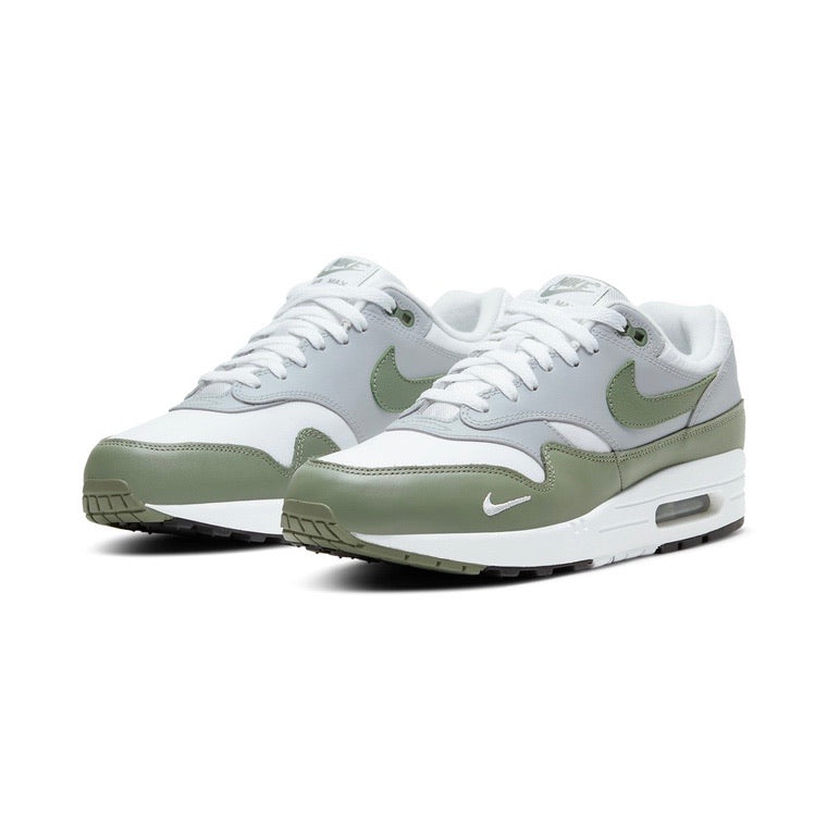 Air Max 1 Premium White Spiral Sage Wolf Grey
