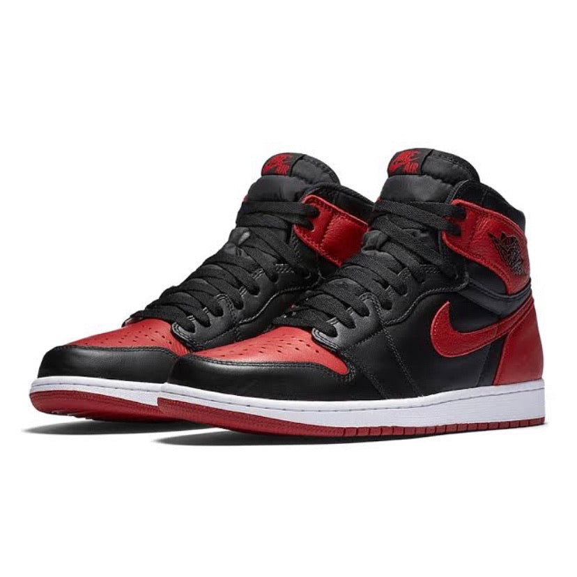 Air Jordan 1 Retro High OG Banned Bred 2016 Black Varsity Red White