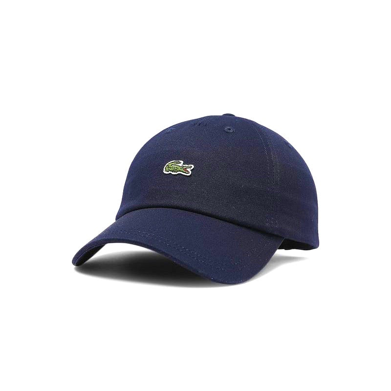 Lacoste Centre Croc Cap Navy with leather strap
