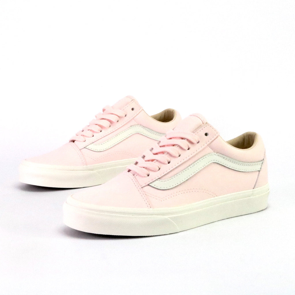 Old Skool Leather Heaven Pink