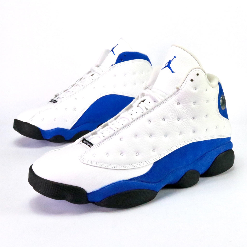 a27d896ab8091 Air Jordan 13 Retro White Hyper Royal Black – Sole Mate Sneaker Boutique