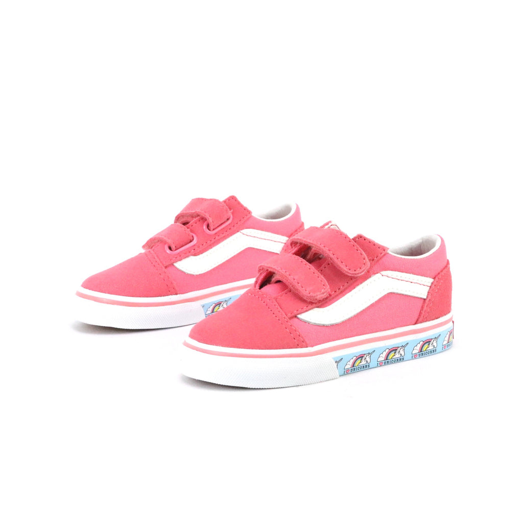Toddler Old Skool V Unicorn Strawberry Pink