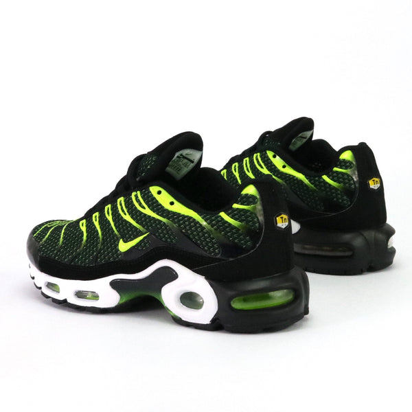 Air Max Plus Black Volt Dark Grey White