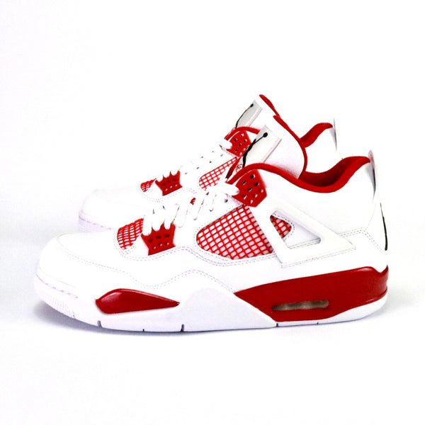 newest 66eed ff772 ... coupon for air jordan 4 retro alternate 89 white black gym red b0cf0  fd45d