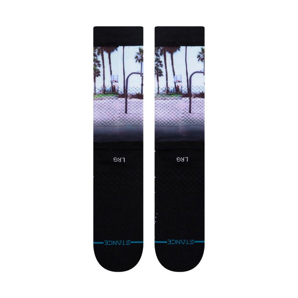 Stance x White Men Can't Jump Sid & Billy Black Socks