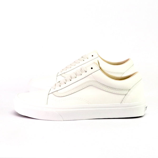 Old Skool Leather White White