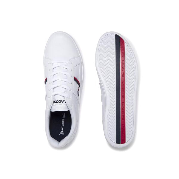 Lacoste Europa White Navy Red