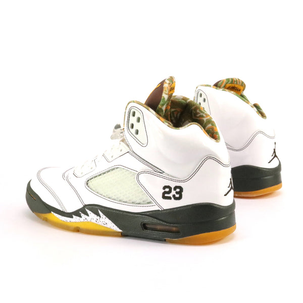 Air Jordan 5 Retro Cinder White Dark Cinder Dark Army Del Sol