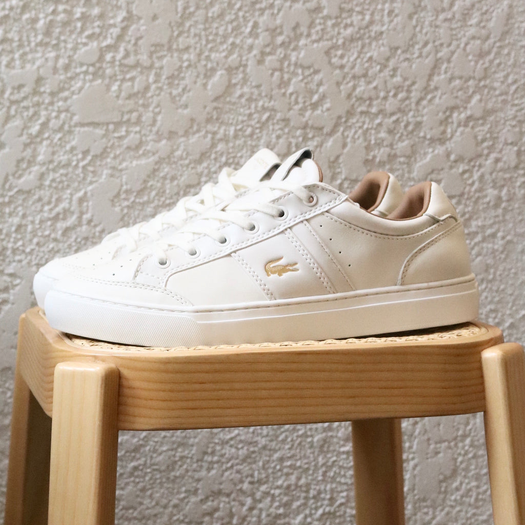Courtline 120 White Gold by Lacoste