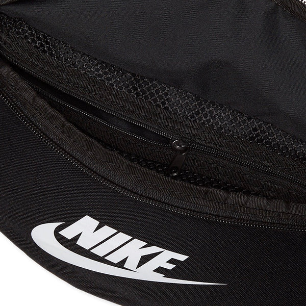 Nike Sportswear Heritage Hip Pack Black White