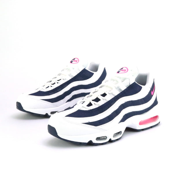 Air Max 95 White Pink Blast Midnight Navy