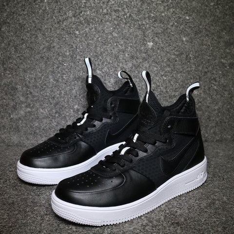 Women's AF1 Mid Ultraforce Black White