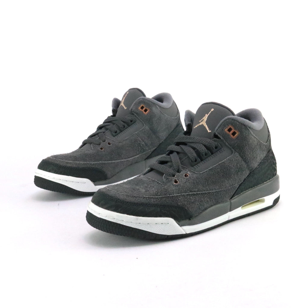 Air Jordan 3 Retro Anthracite GS Metallic Red Bronze