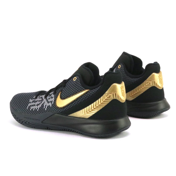 Kyrie Flytrap II Black Metallic Gold Anthracite
