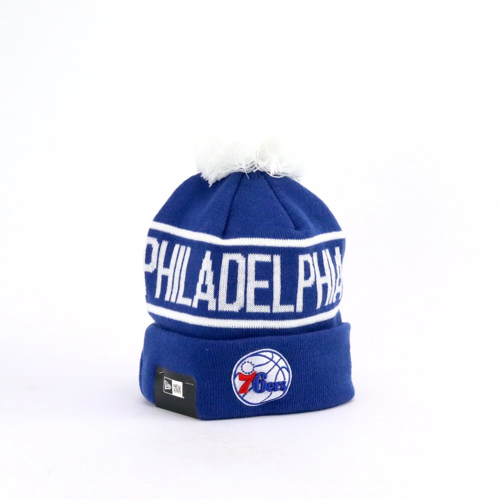 New Era Pom Knit Philadephia 76ers Team Colour