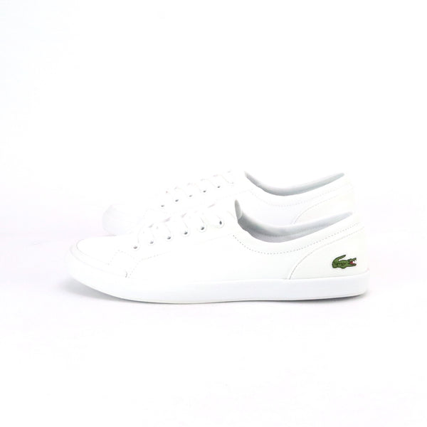 Women's Lancelle White Green by Lacoste