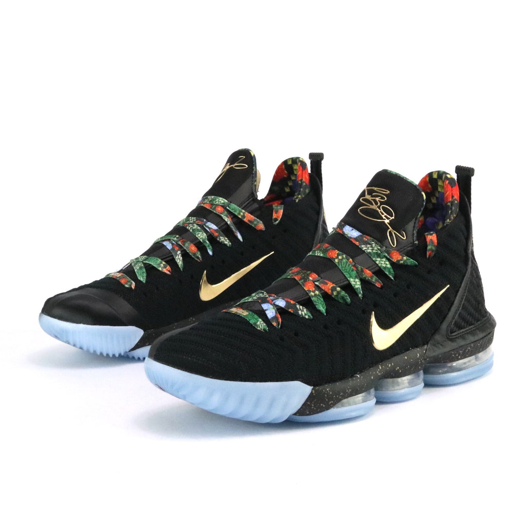 a308b54853a Lebron 16 KC Watch The Throne Black Metallic Gold Rose Frost – Sole Mate  Sneaker Boutique