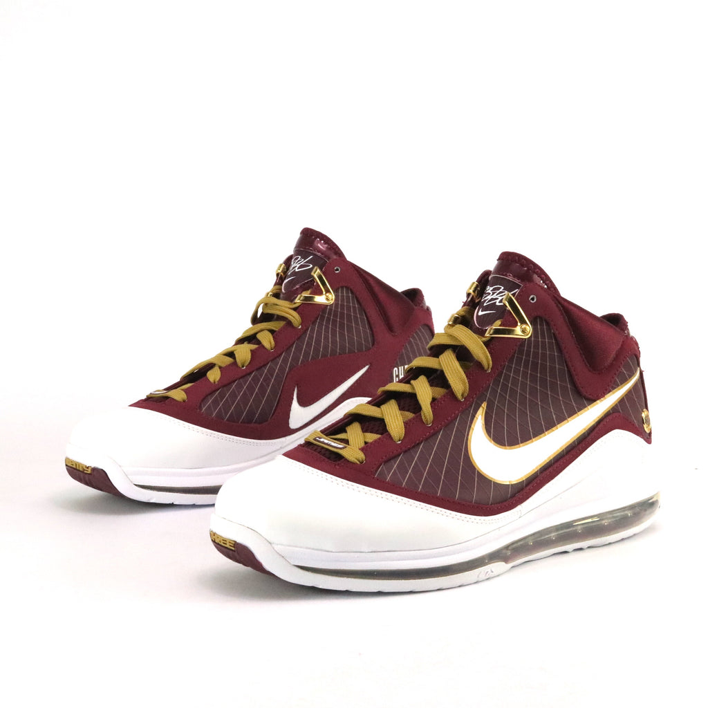 hot sale online 817f9 7292e Lebron 7 Christ The King CTK WHITE DEEP MAROON-METALLIC GOLD – Sole Mate  Sneaker Boutique