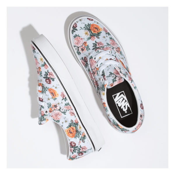 Kids Vans Authentic Garden Floral Multi White