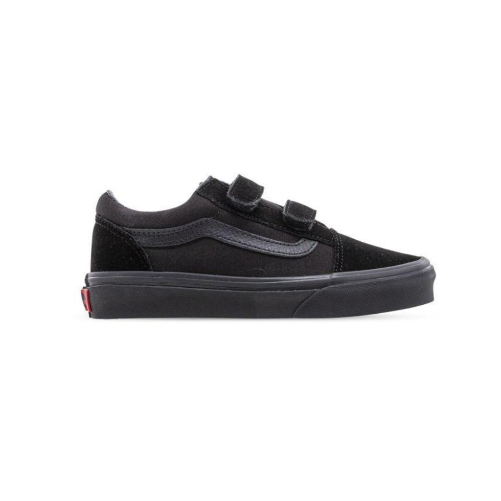 Vans Kids Old Skool Velcro Black Black