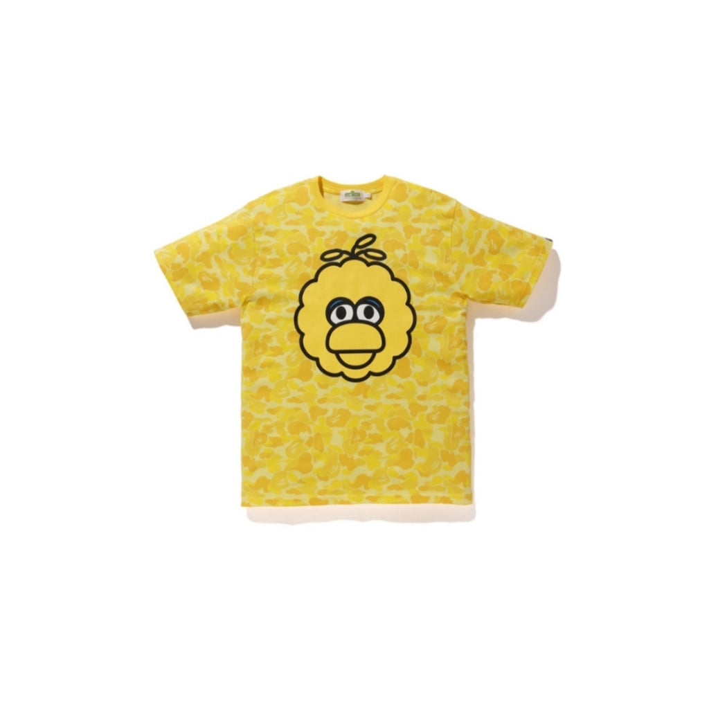 A Bathing Ape x Sesame Street Camo Tee Yellow