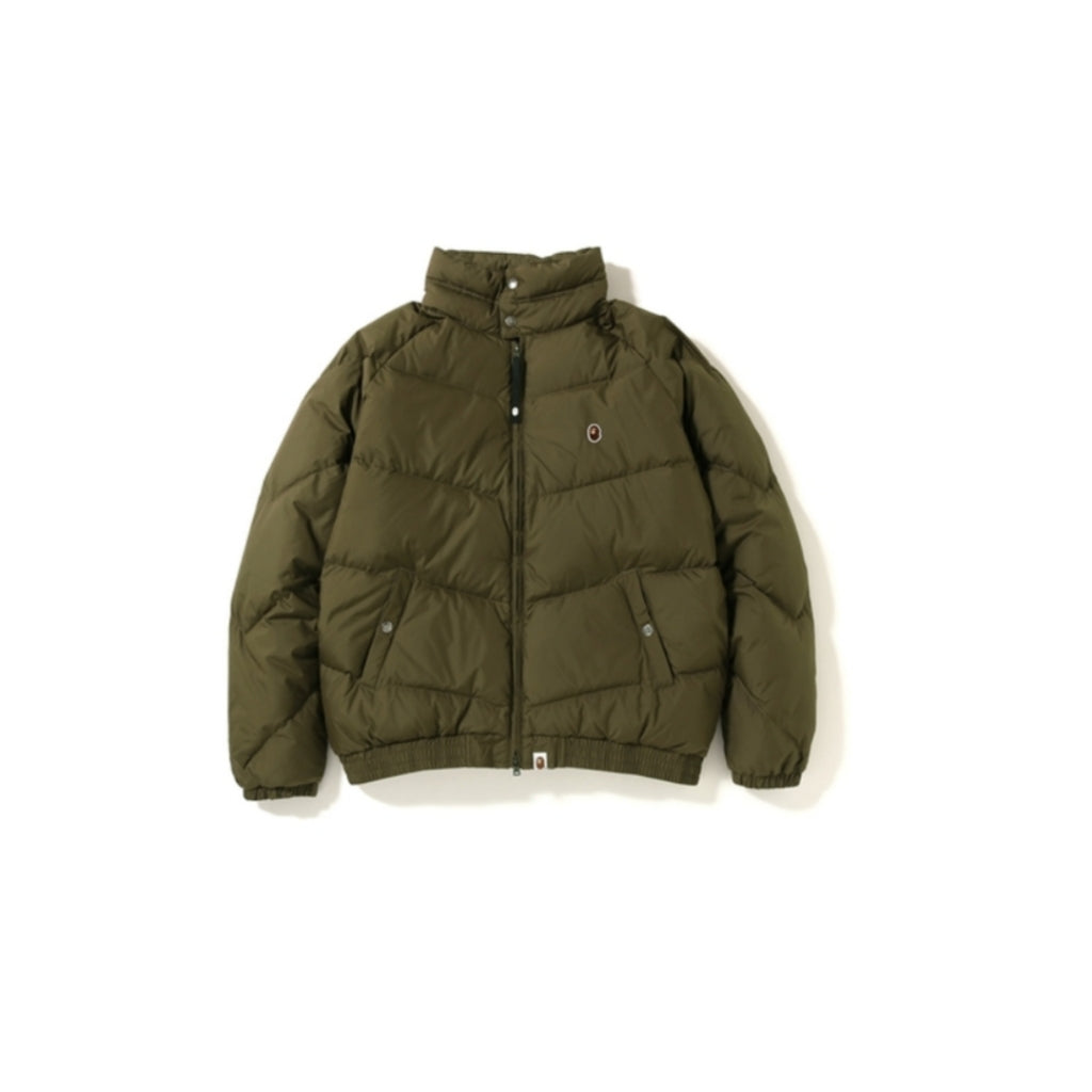 A Bathing Ape Down Jacket Olive