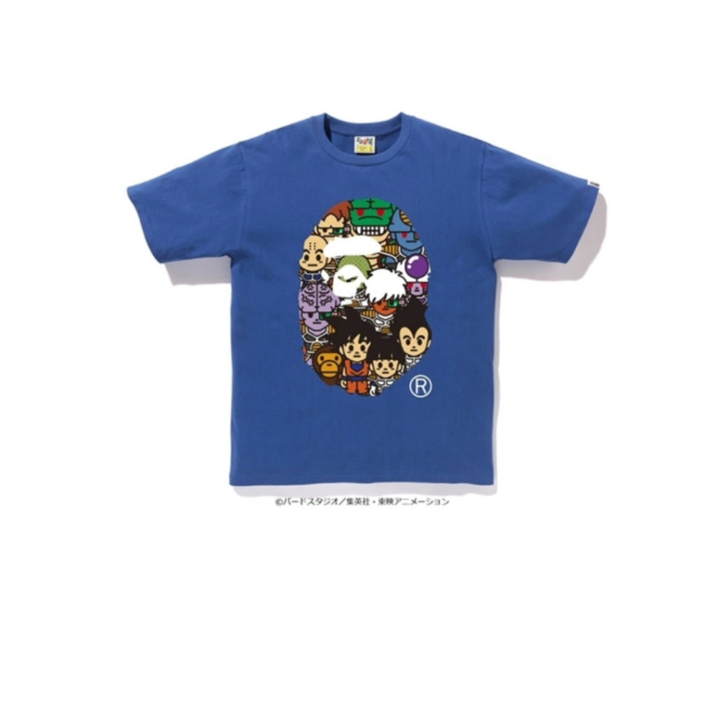 A Bathing Ape X Dragon Ball Z Tee 8 Blue