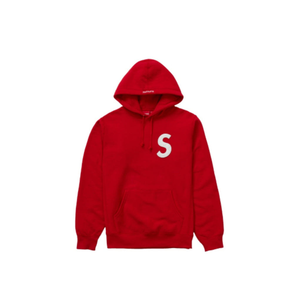 S Logo Sweatshirt SS20 Red White by Supreme