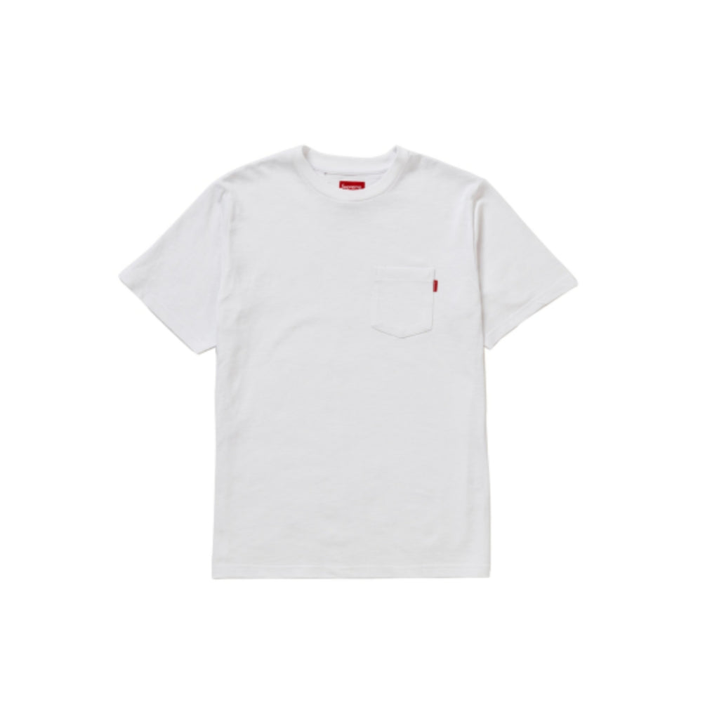 Pocket Tee SS20 White by Supreme