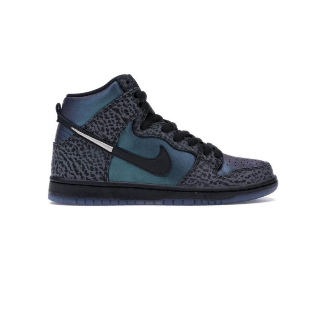 Nike SB Dunk High Black Sheep Hornet Black Dark Grey