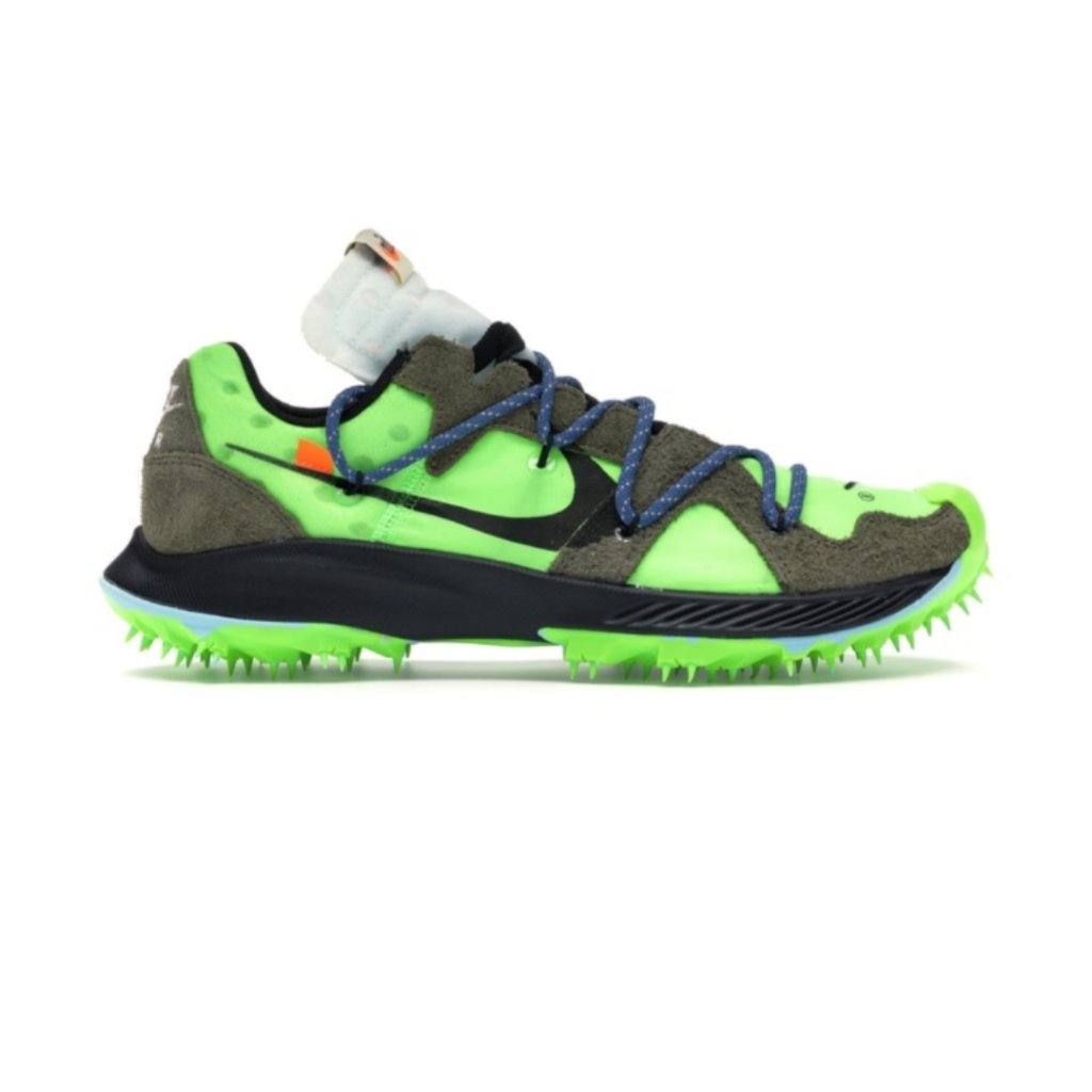 Women Nike x Off-White Zoom Terra Kiger 5 Electric Green