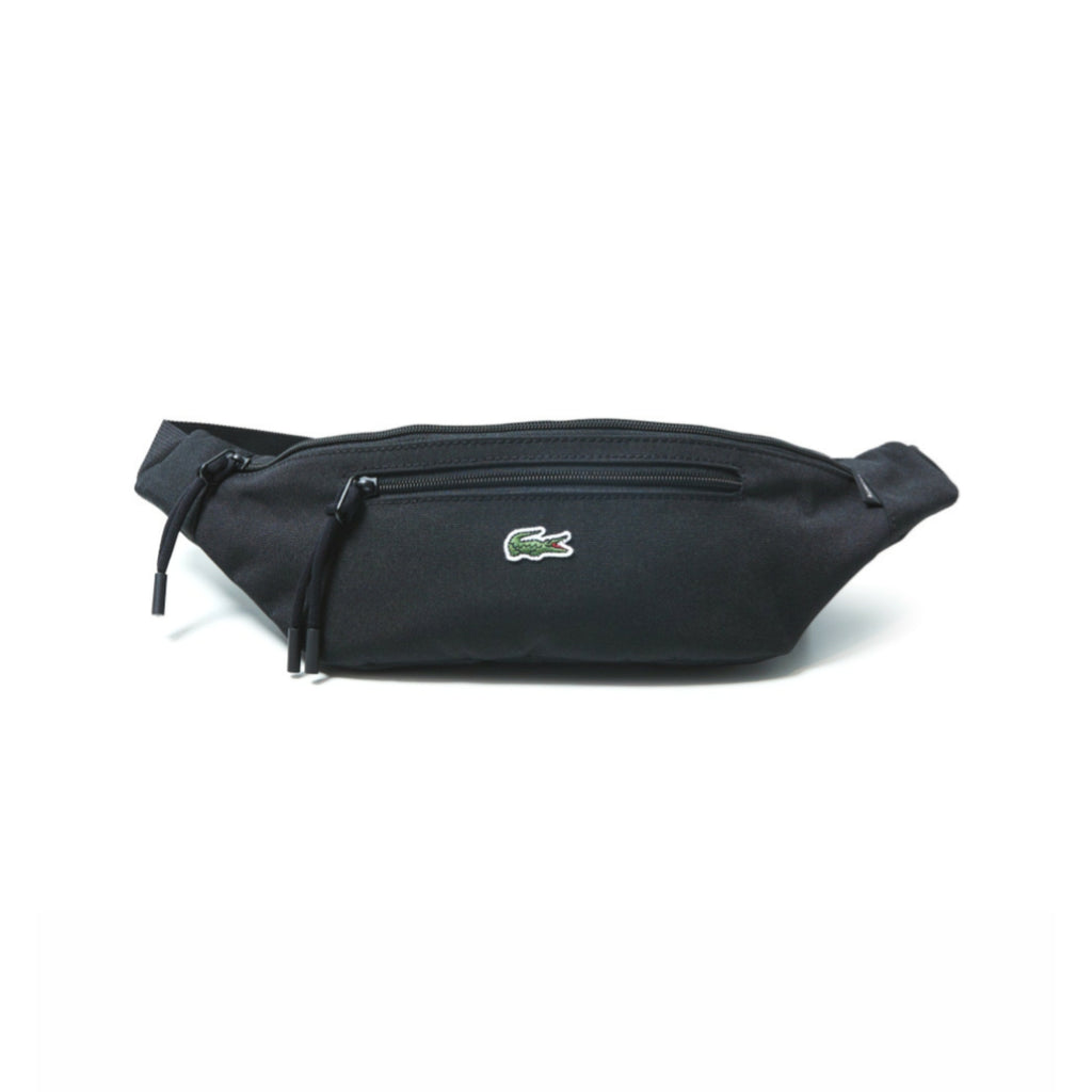 Neocroc Waistbag Black by Lacoste