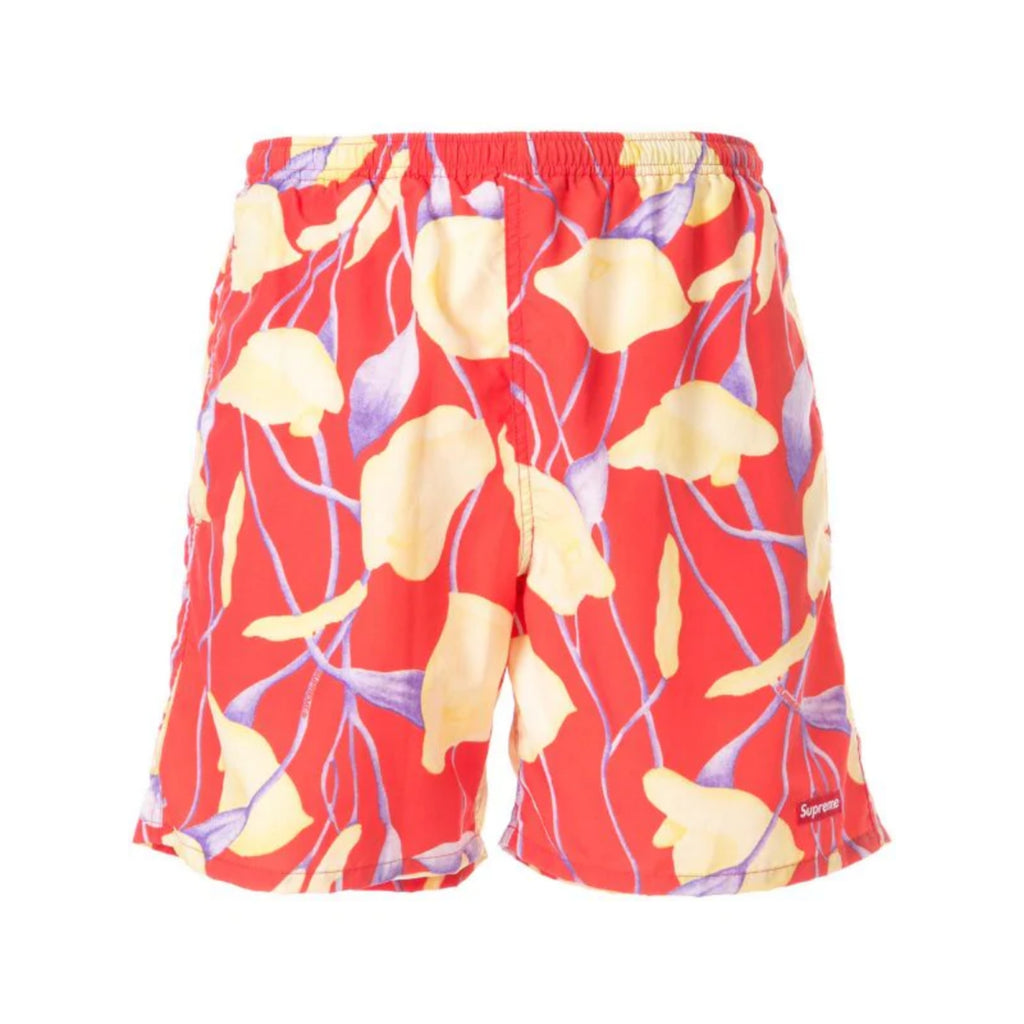 Supreme Nylon Water Short Red Floral