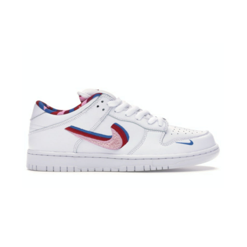 Nike SB Dunk Low Parra White Red Pink