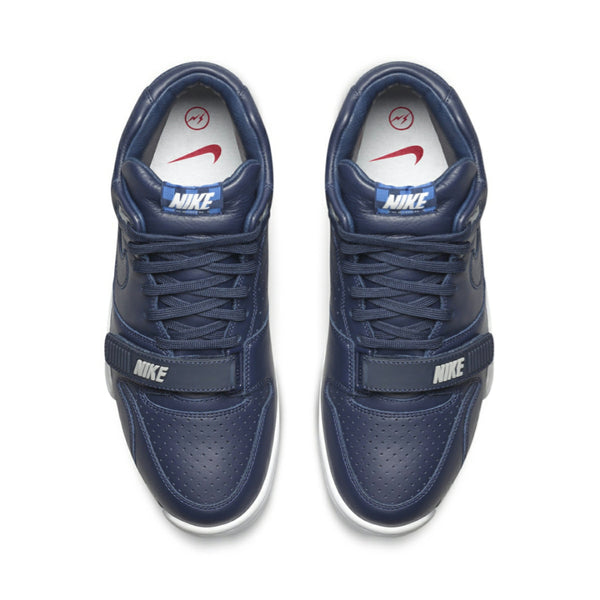 Nike X  Fragment Air Trainer 1 Mid SP Obisidan Obisidan