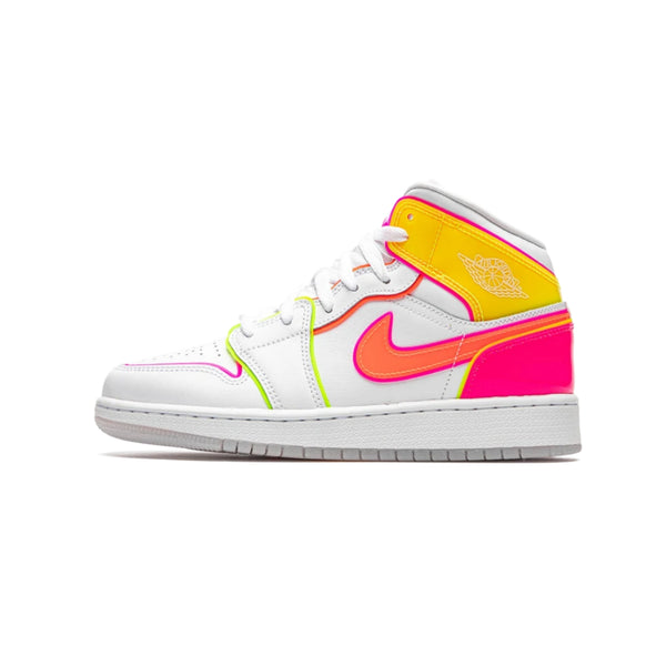 Air Jordan 1 Mid GS Edge Glow