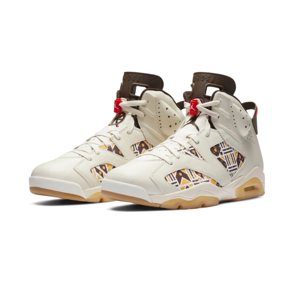 Air Jordan 6 Retro Quai54 Sail Brown