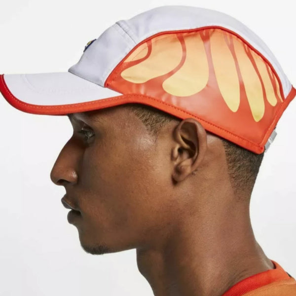 Tuned TN hat  Sunburn Featherlight  Aerobill AW84 red white by NikeLab