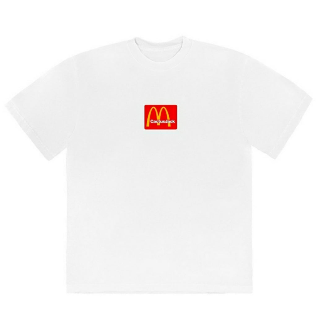 Travis Scott x McDonalds Sesame Tee Shirt White Multi