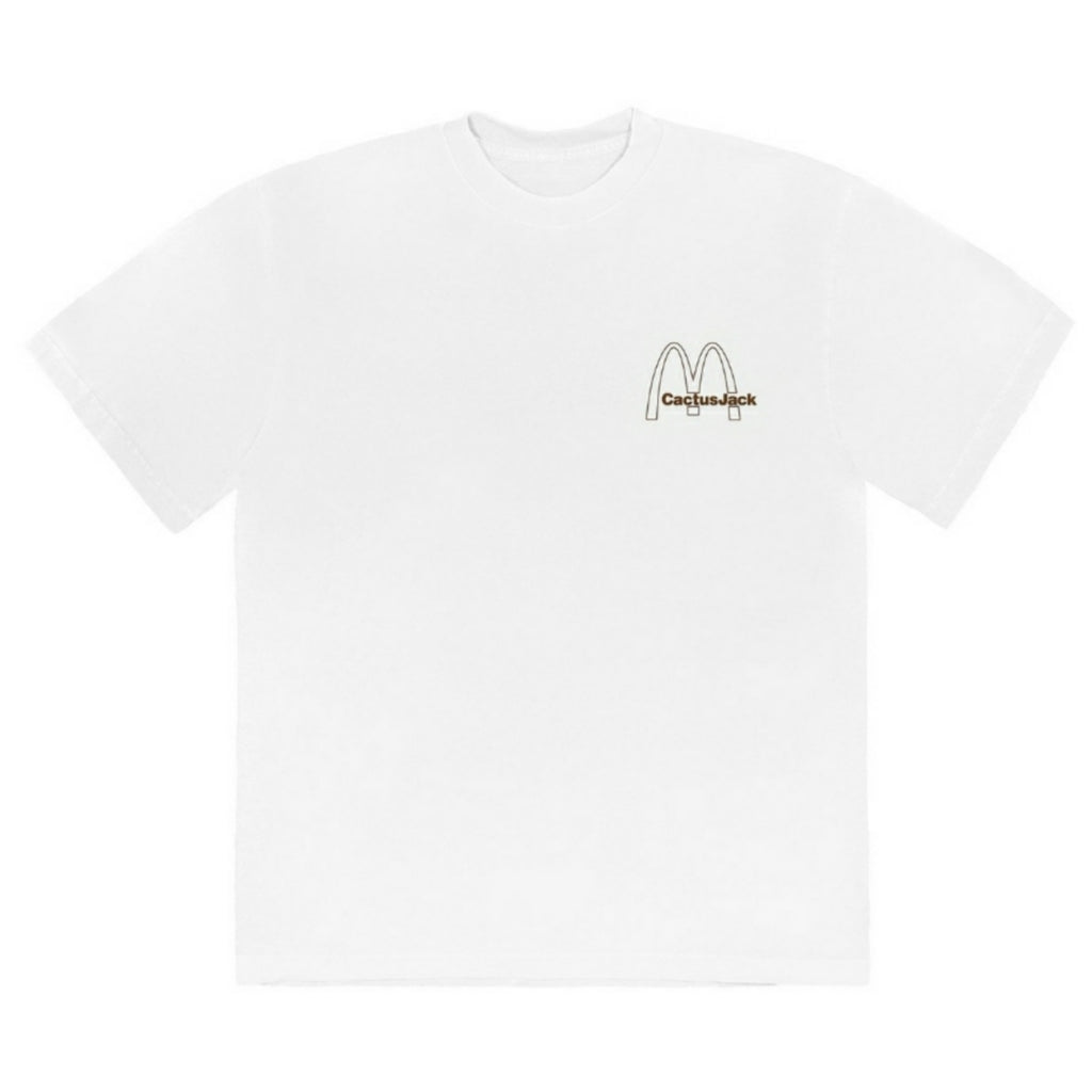 Travis Scott x McDonalds Vintage Action Figure Tee Multi