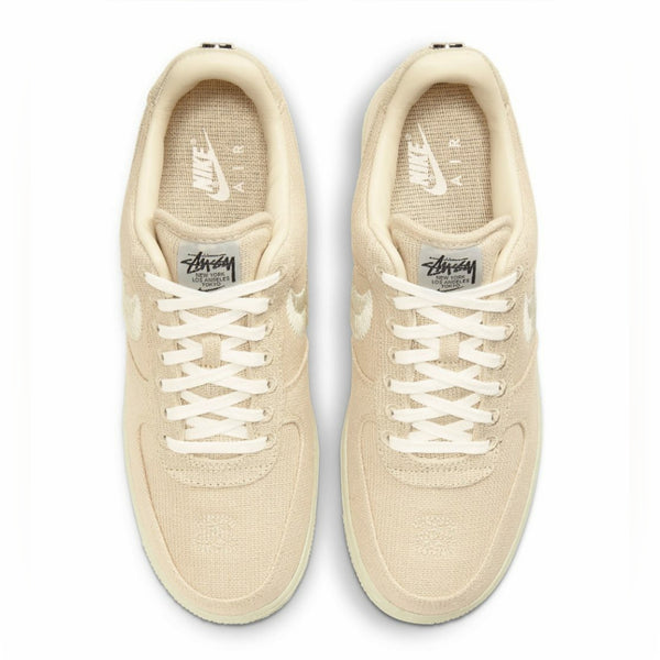 Nike X Stussy Air Force 1 Low Fossil