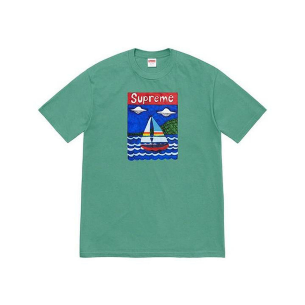 Supreme Sailboat Tee Dusty Teal