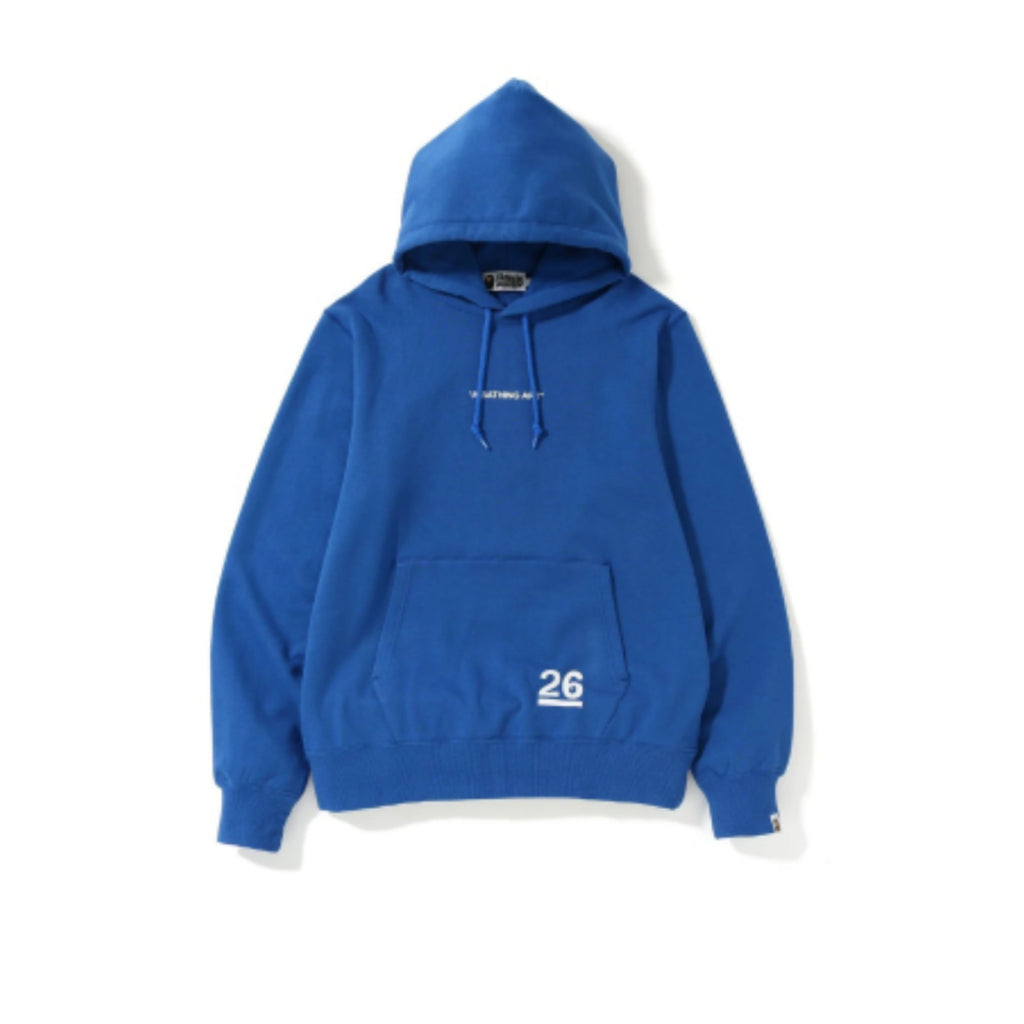 BAPE Nowhere 26th Anniversary Pullover Hoodie Blue