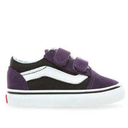 Toddler Old Skool V Suede Mysterio Purple Black