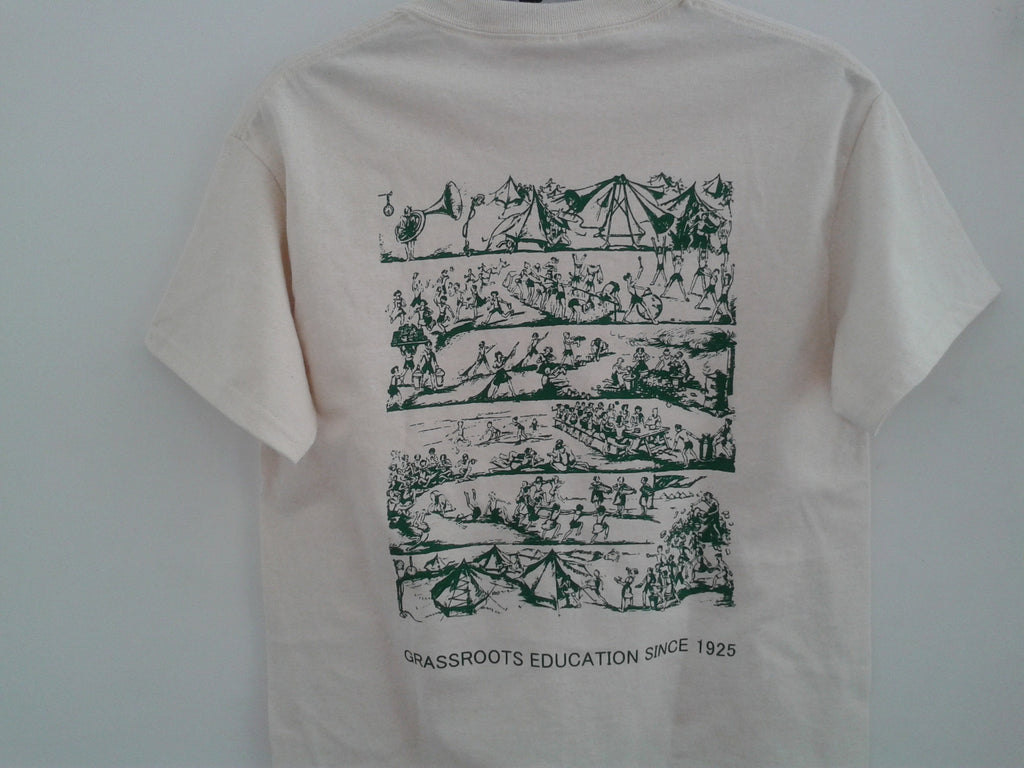 T-Shirt-90th Anniversary-A Day in Camp (Limited stock remaining)