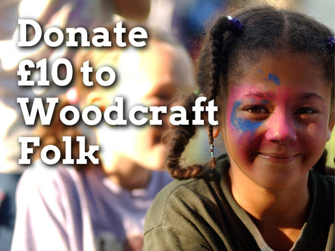 Donate £10 to Woodcraft Folk