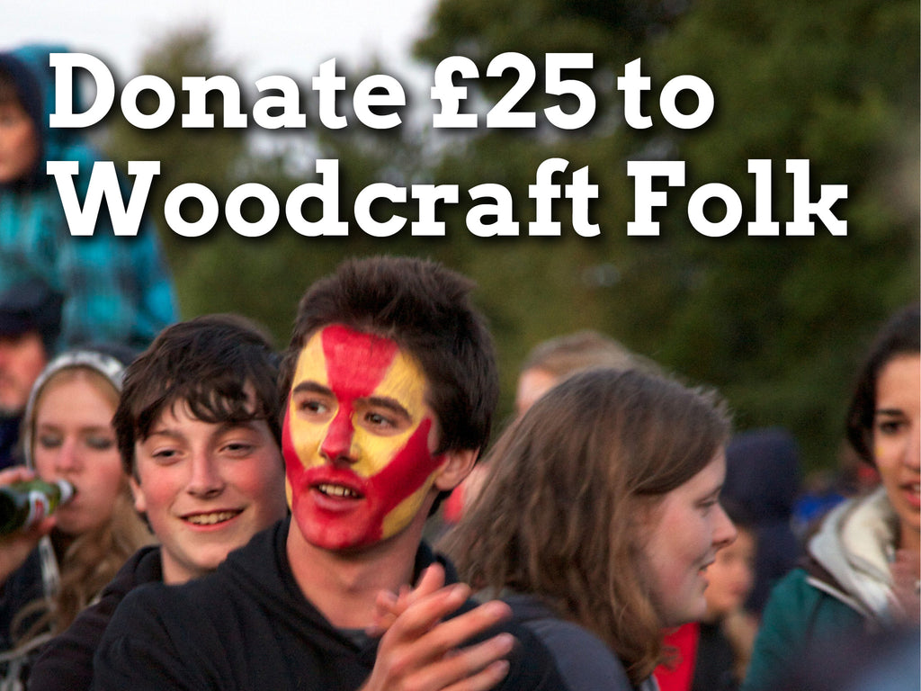 Donate £25 to Woodcraft Folk
