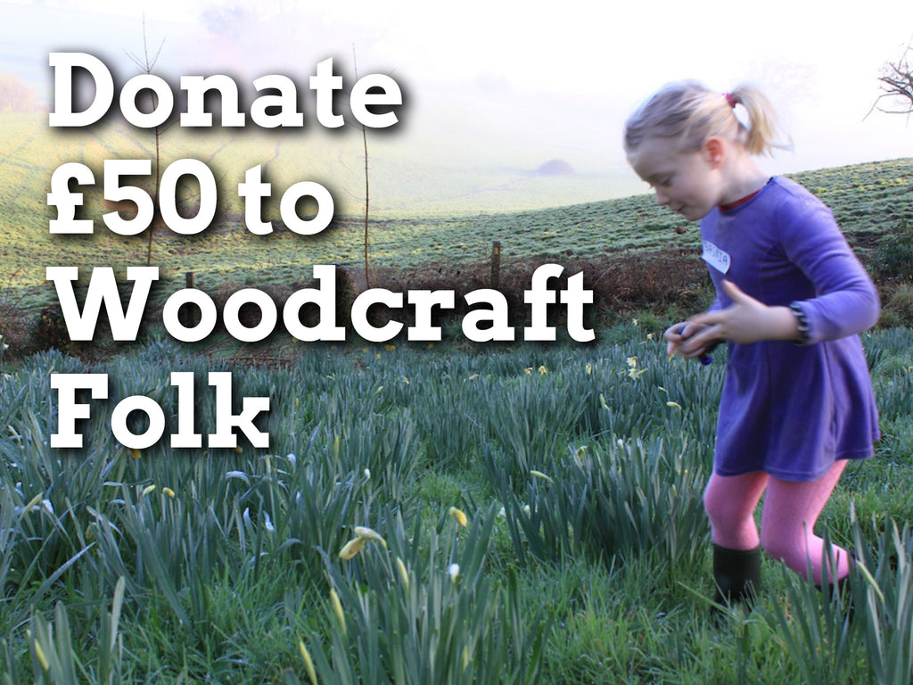 Donate £50 to Woodcraft Folk