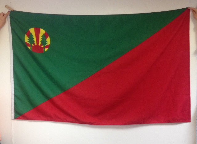 Flag-with Woodcraft Folk logo