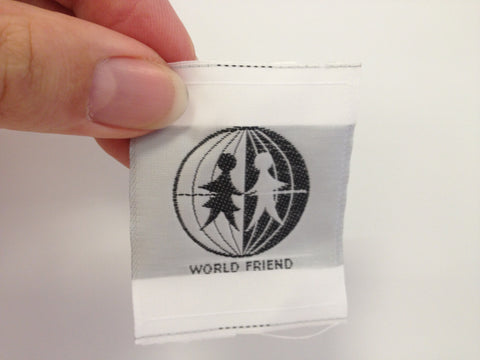 Elfin Cloth Badge-World Friend